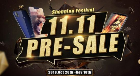 Double 11 shopping festival presale already started with CUBOT