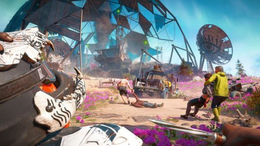 Far Cry New Dawn runs at native 4K resolution on Xbox One X