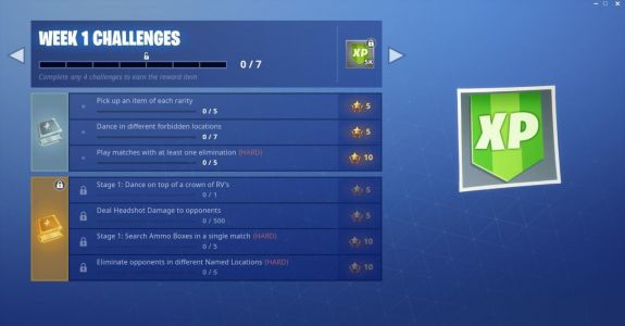Fortnite Challenges : Dance In Forbidden Locations, Crown Of RVs, And More