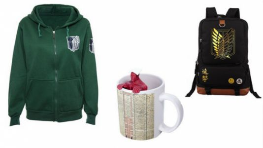 Go Titan Shifting With This Attack on Titan Gift Guide