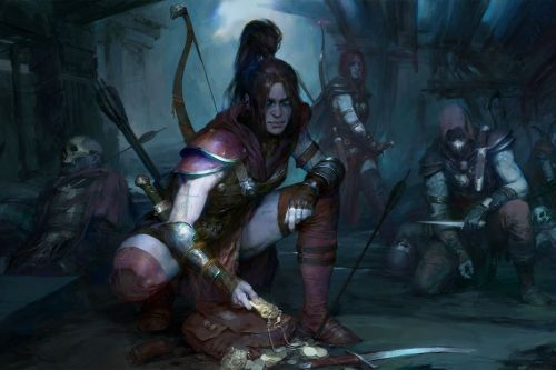 Diablo IV's art director on the gritty tone: 'Darkness does not mean bleakness'
