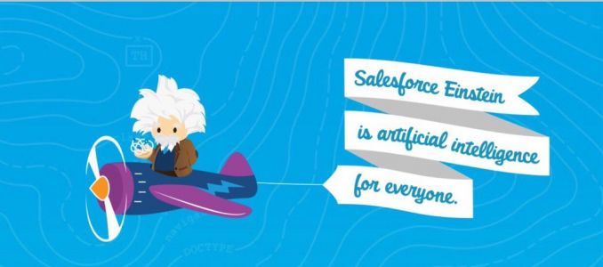 Salesforce Einstein gets older and wiser celebrating first birthday