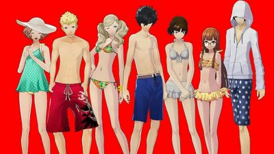 Free Swimsuit DLC Out Now For Persona 5