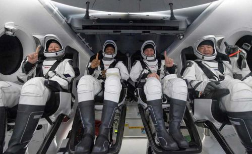SpaceX Crew Dragon successfully splashes down in the Gulf