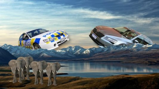 NZ police will reduce 84 elephants' worth of CO2 each year with its new fleet vehicles