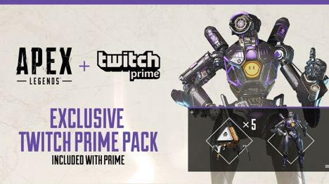 Apex Legends: Get A Free Skin, Apex Packs With Twitch Prime