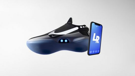Nike Unveils Adapt BB Self-Lacing, iPhone-Controlled Basketball Sneaker