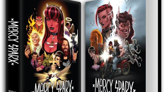 Volume 2 of the MERCY SPARX Omnibus is Now Available on Kickstarter