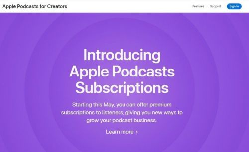What's the deal with Apple's new Podcast Subscriptions?