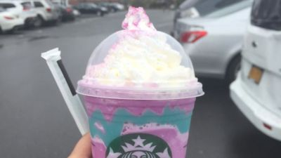 Starbucks' Unicorn Milkshake Is Just as Bad for You as All Their Other Milkshakes