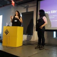 Radiating outward to meet the wilderness: Avery Alder on her games