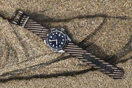 Radical Oris watch strap is made from recycled plastics, and it looks great