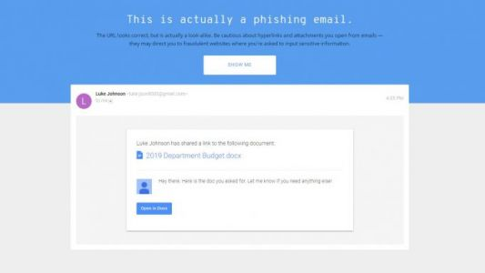 Google quiz tests your ability to spot phishing scams