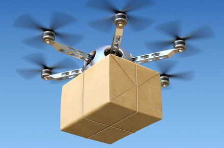 A gang's illegal drone delivery service just landed them in jail