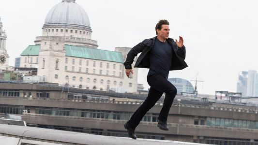 Tom Cruise is Still Running in This New Production Photo From MISSION: IMPOSSIBLE 7