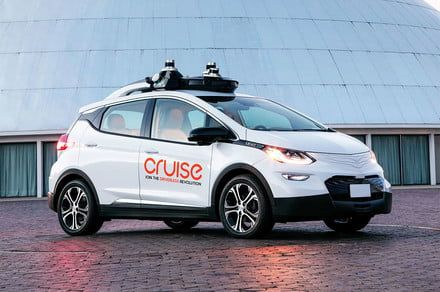 Watch GM Cruise's driverless car perform one of the trickiest maneuvers