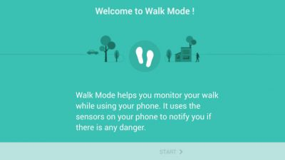 Samsung has a special walking app for distracted pedestrians but nobody's using it