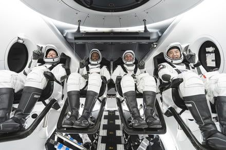 SpaceX's historic Crew-1 mission in pictures