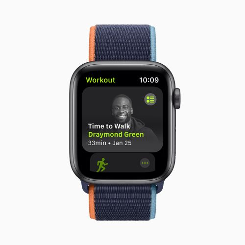 Apple's new Fitness+ feature brings celebrity-guided walks to your wrist