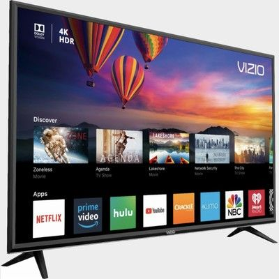 Grab Vizio's 50-inch 4K Smart TV for $350 with a $100 gift card