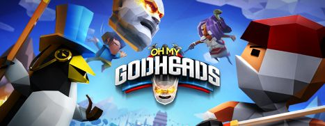 Now Available on Steam - Oh My Godheads, 10% off!
