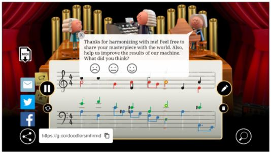 Google's Bach Doodle Shows Computers Are Great Composers