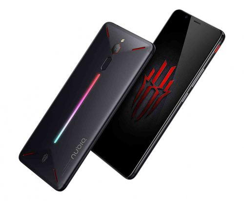Nubia Red Magic is a new gaming smartphone with an LED strip on the back