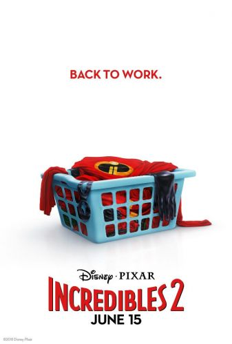 Here's The First Teaser Poster For INCREDIBLES 2 and a New Synopsis