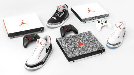 Don't Miss Your Chance To Win An Xbox One X Modeled After Air Jordans