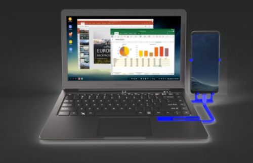 Continuum Shell Mirabook Also Works With Some Android Phones
