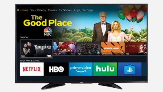 Amazon's best-selling 50″ 4K Fire TV is on sale for $280 with a free Echo Dot