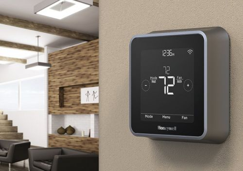 This sleek Alexa enabled thermostat is back under $100 today on Amazon