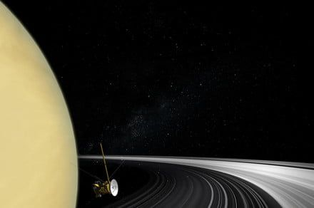 Saturn didn't always have rings, according to new analysis of Cassini data
