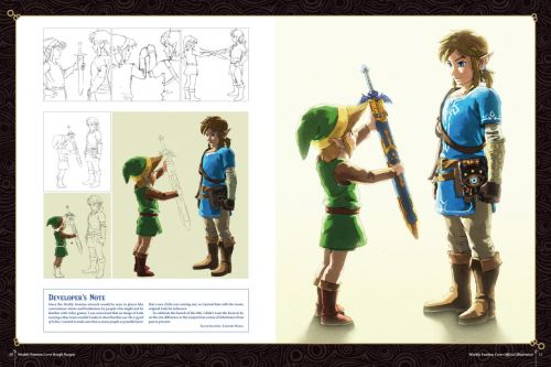 Check Out Pages From The Legend Of Zelda: Breath Of The Wild Artbook