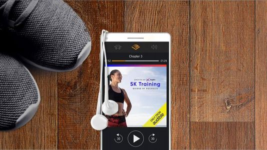 Audible's first fitness programs guide you through workouts