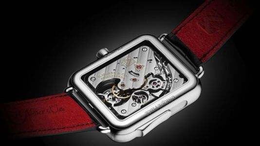 This $350,000 Swiss watch looks like an Apple Watch, chimes to tell the time