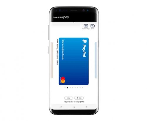 Samsung Pay adds PayPal support