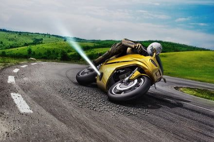 It sounds crazy, but jet thrusters on a motorbike may actually make it safer