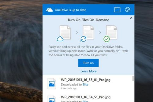 OneDrive Files On-Demand: How to enable it in Windows 10 Fall Creators Update