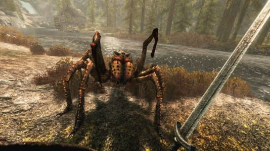 'Skyrim VR' makes the 6-year-old game feel fresh again