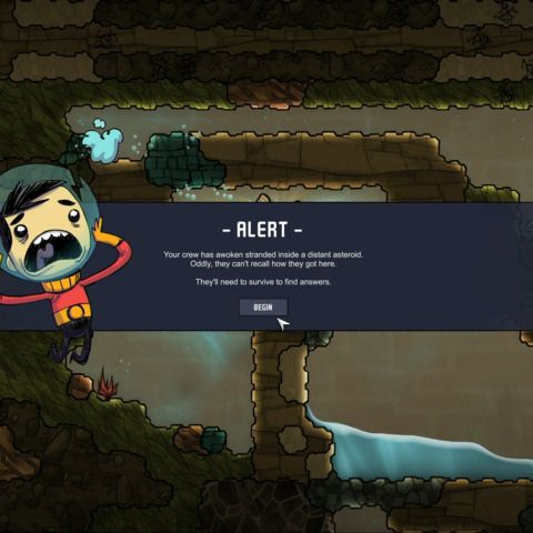Unfinished: Oxygen Not Included