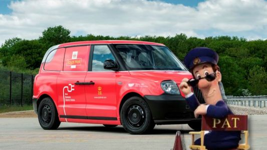 UK's Royal Mail has a new 'green' delivery van - but it's really an 'electric' London taxi