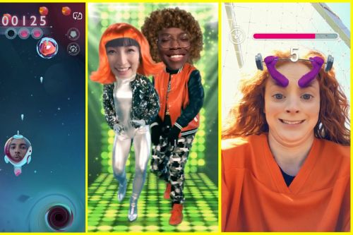 Snapchat is making new lenses with built-in games