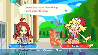 How 'Puyo Puyo Tetris' tricked me into liking puzzle games