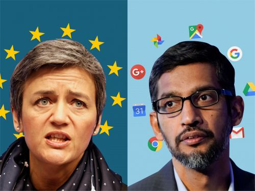 Google fined a record $5 billion by the EU for abusing the dominance of Android