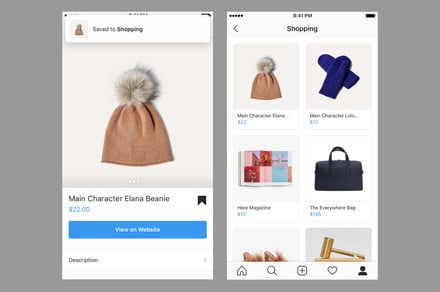 Build a wish list and shop videos with Instagram's latest shopping update