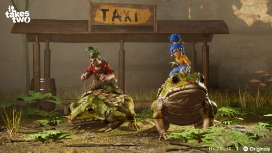 IT TAKES TWO Gets a New Gameplay Trailer