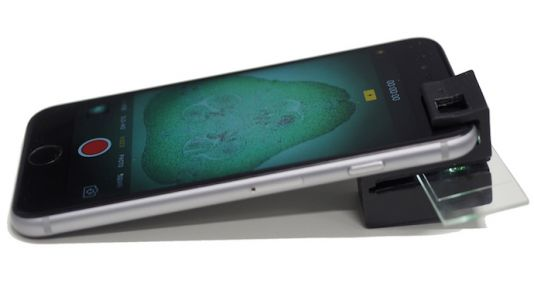 3D-Printable Clip-On Turns Smartphone Into Powerful Microscope