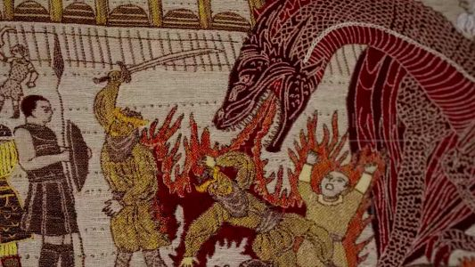 Incredible tapestry recounts Game of Thrones episodes