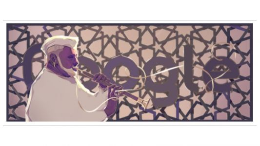 Google Doodle celebrates Ustad Bismillah Khan's 102nd birthday
